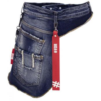 Jeansová kapsička kolem pasu