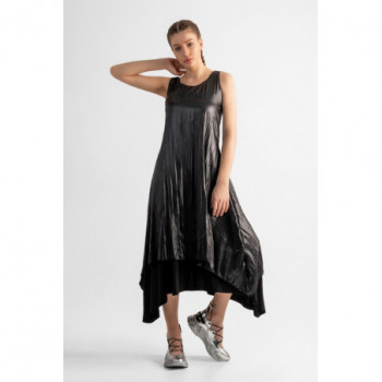 Dlouhé šaty bez rukávů