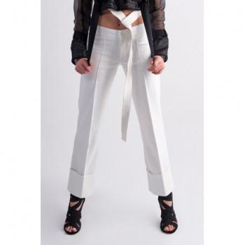 Bílé kalhoty elegant