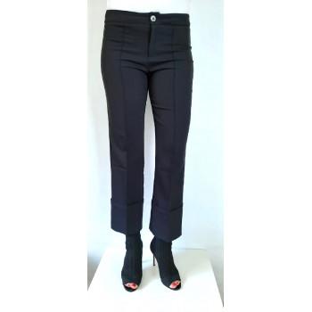 Černé kalhoty elegant