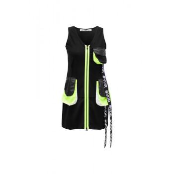 Sportovní šaty na zip