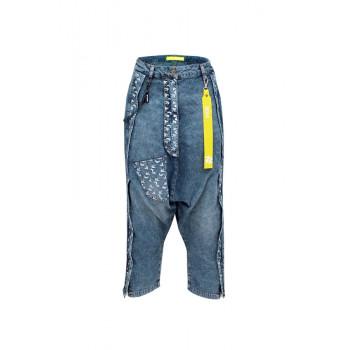 Jeans kalhoty oversize