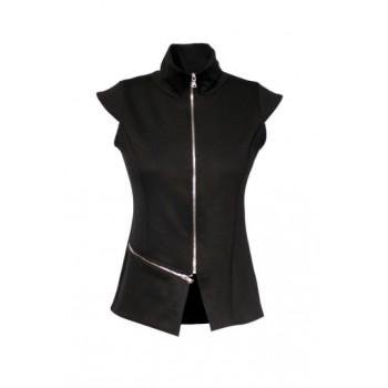 Elegantní vesta na zip
