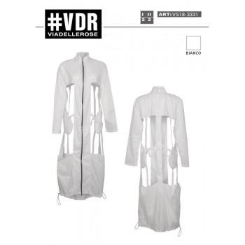 Designový plášť dlouhý